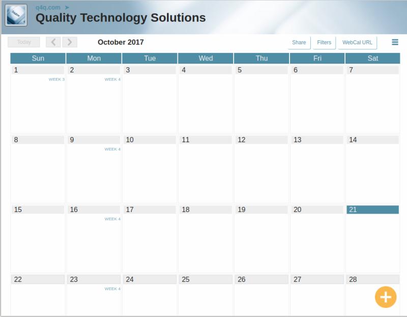 Calendar v1.0